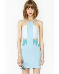 Nasty Gal New Wave Dress - Lyst