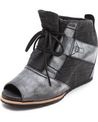 Sorel - Lake Wedge Booties - Lyst