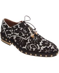 Givenchy Studded Lace Oxford - Lyst