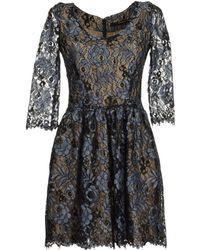 Maurizio Pecoraro Short Dresses - Lyst