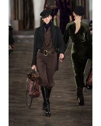 Ralph Lauren Fall 2013 Runway Look 25 - Lyst