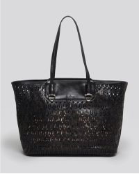 Sam Edelman Tote Marina Perforated - Lyst