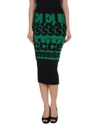 D&G 34 Length Skirts - Lyst