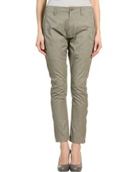 Nude:mm - Casual Pants - Lyst