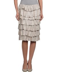 Twenty-29 - Knee Length Skirt - Lyst