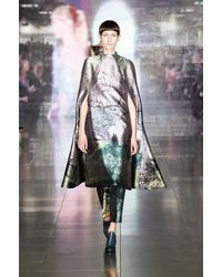 Mary Katrantzou Fall 2013 Runway Look 19 - Lyst