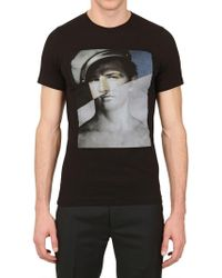Dead Meat - Marlon Printed Jersey T-shirt - Lyst