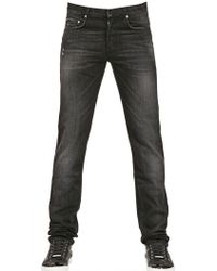 Dior Homme 19Cm Fly By Night Washed Denim Jeans black - Lyst