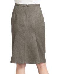 Max Mara Mabel Print Skirt - Lyst