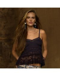 Denim & Supply Ralph Lauren Lace Camisole - Lyst