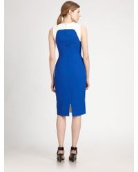 Antonio Berardi Colorblock Dress - Lyst