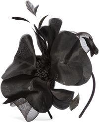 Brooks Brothers - Silk Floral Fascinator - Lyst