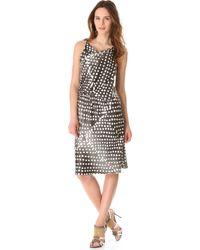 David Szeto - Sahara Dotted Dress - Lyst