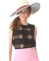 Eugenia Kim Bunny Striped Sunhat - Lyst