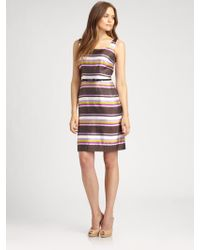 Kate Spade Martie Striped Dress - Lyst