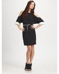 Sachin & Babi Gia Open Sleeve Dress with Belt - Lyst