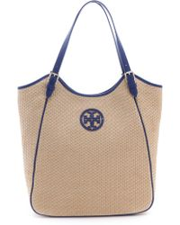 Tory Burch Slouchy Tote - Lyst