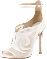 B Brian Atwood Linscott Meshinset Bootie - Lyst