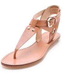 Belle By Sigerson Morrison Randy Studded Sandals - Lyst