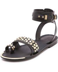 Boutique 9 Pahana Studded Flat Sandals - Lyst