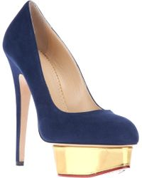 Charlotte Olympia Dolly Pump - Lyst