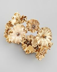 Colette Malouf | Enameled Flower Bracelet | Lyst