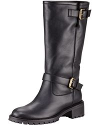Fendi Rabbitlined Motorcycle Boots - Lyst