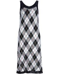 Jean Paul Gaultier Argyll Dress - Lyst