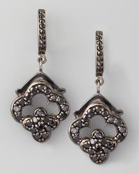 M.c.l  Matthew Campbell Laurenza - Retro Black Spinel Earrings - Lyst