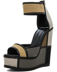 Pierre Hardy Mondrian Wedge in Camouflage - Lyst