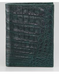 Santiago Gonzalez - Crocodile Passport Cover - Lyst
