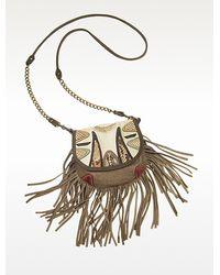 Abaco   Chitta Python Leather Shoulder Bag   Lyst