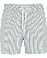 AllSaints - Catamaran Swim Shorts - Lyst