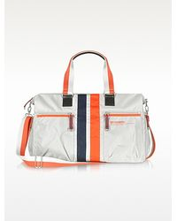 Bensimon Collection Striped Nylon Weekender Duffle - Lyst