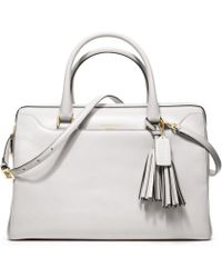 Coach Legacy Pinnacle Leather Lg Haley Satchel - Lyst