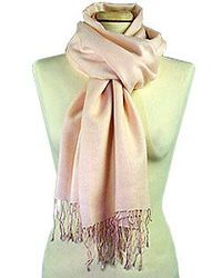 Basile - Fringed Solid Wool and Cashmere Pashmina Shawl - Lyst