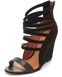 IRO - Mirlind Wedge Sandals - Lyst