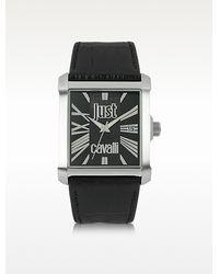 Just Cavalli Rude Collection Quartz Analog Watch - Lyst