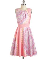 ModCloth Backyard Reception Dress - Lyst