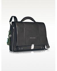 Piquadro Link - Slim 15 Laptop Expandable Messenger Bag - Lyst