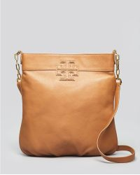 Tory Burch Crossbody Stacked T Book Bag - Lyst