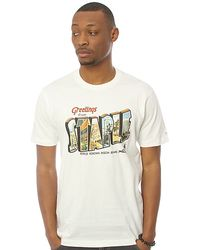 Staple The Postcard Tee in White - Lyst