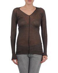 Knit Knit - Long Sleeve Sweater - Lyst