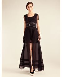 Alice By Temperley Long Pirouette Dress - Lyst
