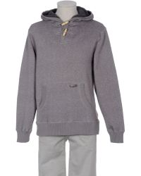 Billabong Hooded Sweatshirt gray - Lyst