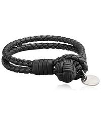 Bottega Veneta Nappa Classic Leather Bracelet - Lyst