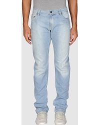 Cellar Door - Denim Pants - Lyst