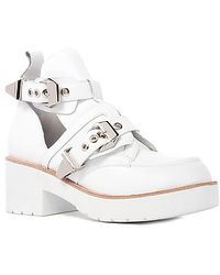 Jeffrey Campbell The Coltrane Boot in White Leather - Lyst