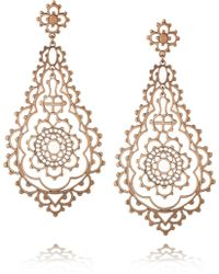 Laurent Gandini | Serenissima 9karat Rose Gold Earrings | Lyst