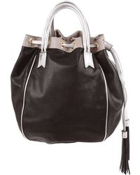 Meredith Wendell - Leather Tassel Circle Tote - Lyst